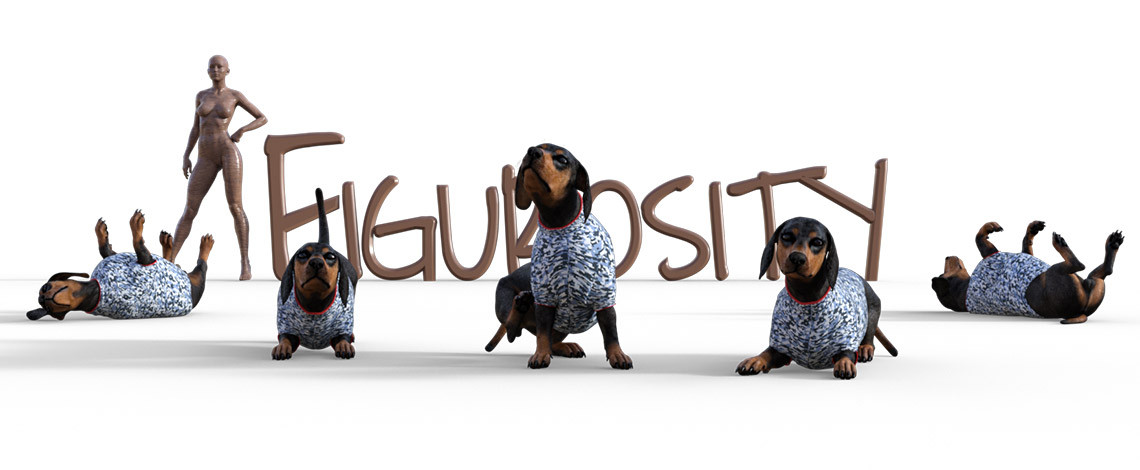 dachshund madness poses