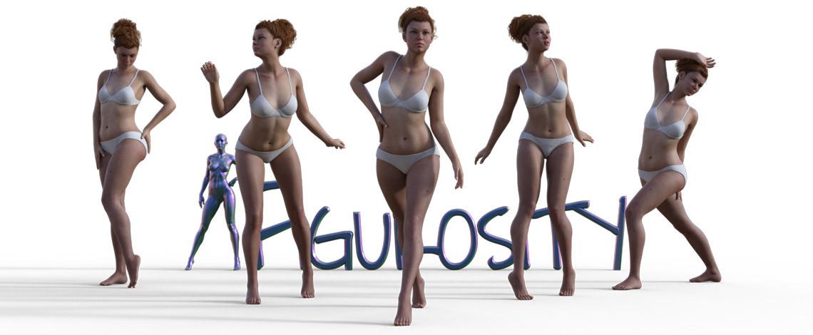 Figure drawing studio poses