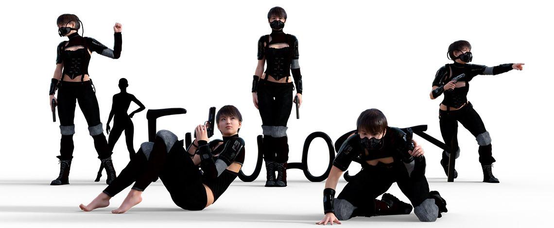 Victoria's Dystopian Dream poses