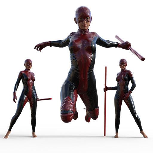 Superhero Poses Figurosity