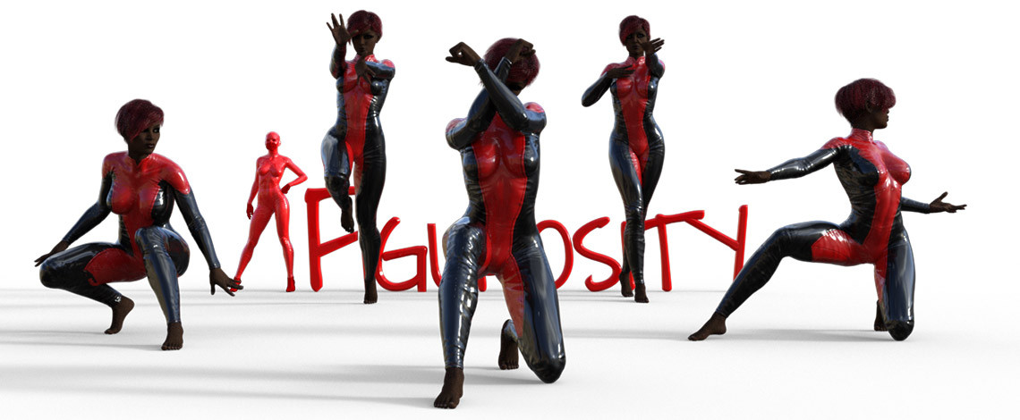 Monique's Superhero Series poses
