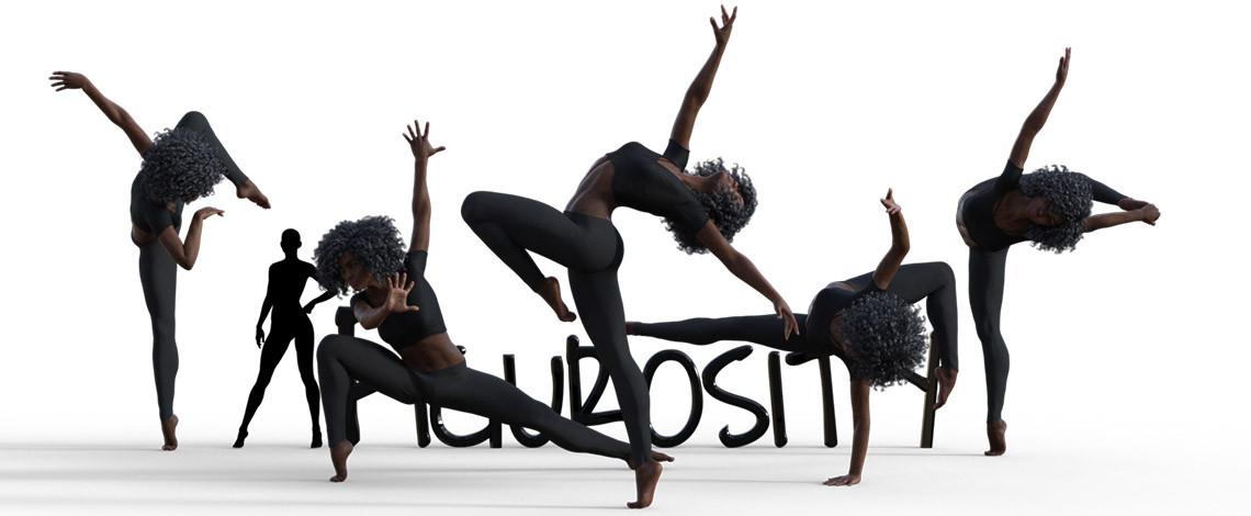 Modern Dance Poses poses