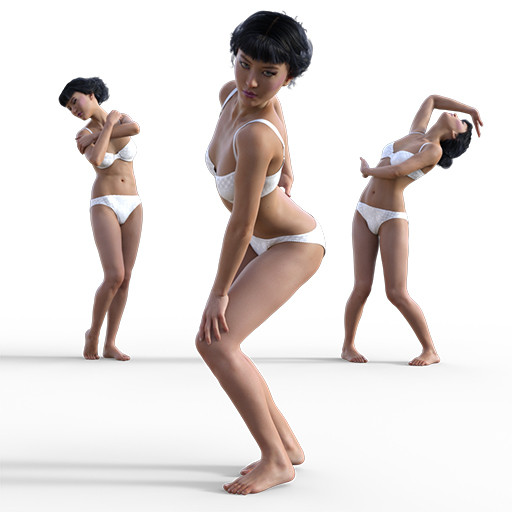Figure drawing poses of