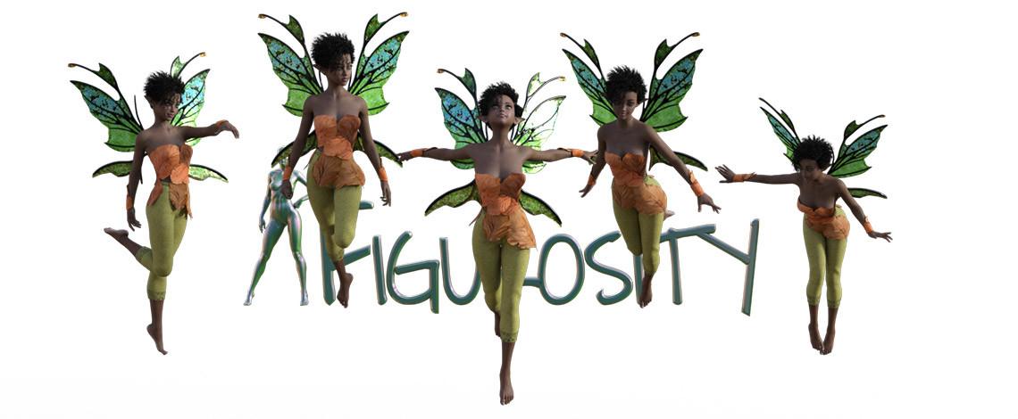 Fairy Feb poses